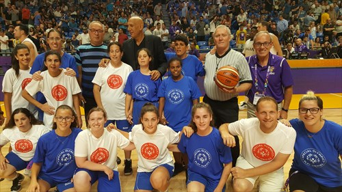 Special Olympics on court in Tel Aviv
