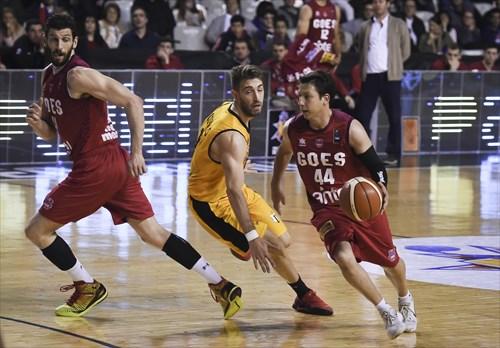 41 Nicolas Borsellino (GOE), 18 Nicolas Copello (LIB), 44 Fernando Martínez (GOE)