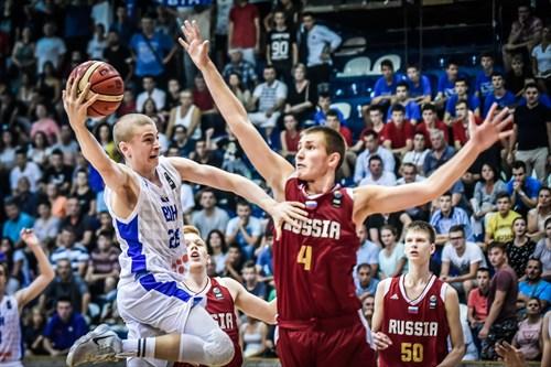 28 Aleksa Gataric (BIH), 4 Aleksandr Evseev (RUS)