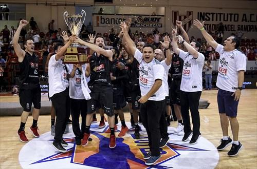 Franca : 2018 Liga Sudamericana de Clubes FIBA Champion