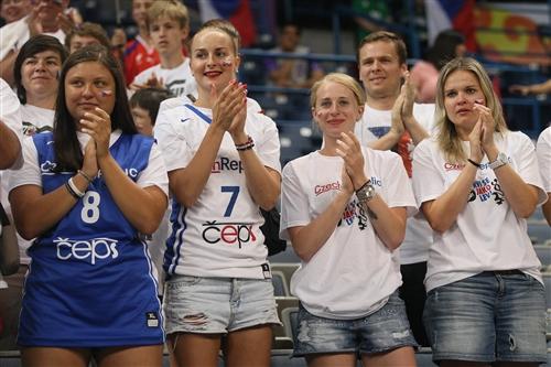 Czech Republic fans