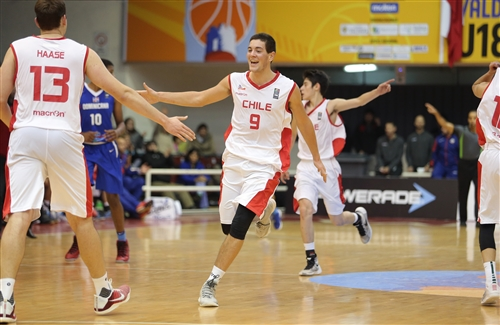 13 Felipe Haase (CHI), 9 Santiago Soulodre (CHI)