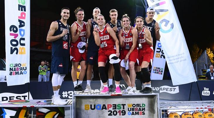 France's men and Russia's women win FIBA 3x3 U23 Nations League 2019 at World Urban Games