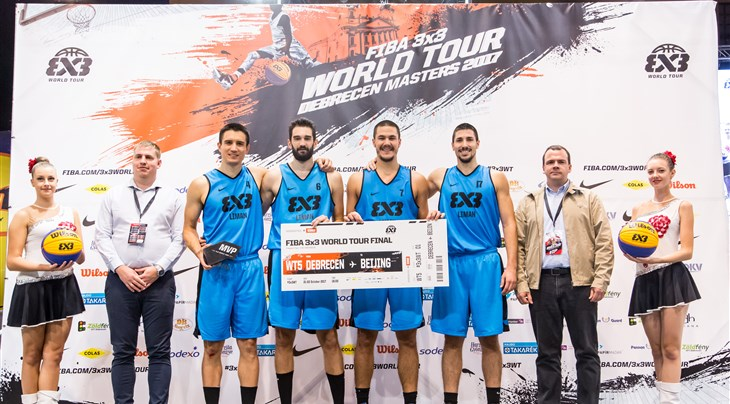 Liman win FIBA 3x3 World Tour Debrecen Masters 2017