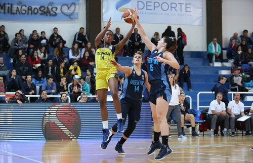 14 Luisa Quesada (COL), 15 Brenka Fontana (ARG), 14 Florencia Chagas (ARG)