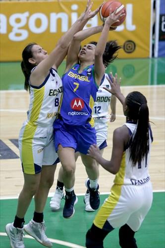 7 Anna Rodrigues (BRA), 8 Paulina Vaicekauskas (ECU)