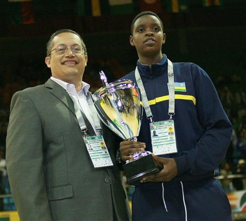 All star Five, Bella Murekatete (Rwanda)