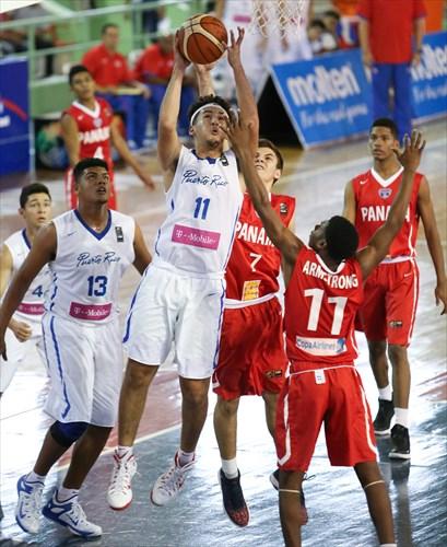 11 Roberto Armstrong (PAN), 11 Eduardo Peralta (PUR)