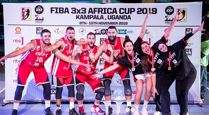 Egypt win historic double at FIBA 3x3 Africa Cup 2019