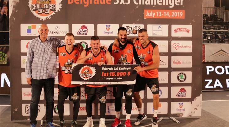 Zemun win Serbian clash at Belgrade 3x3 Challenger