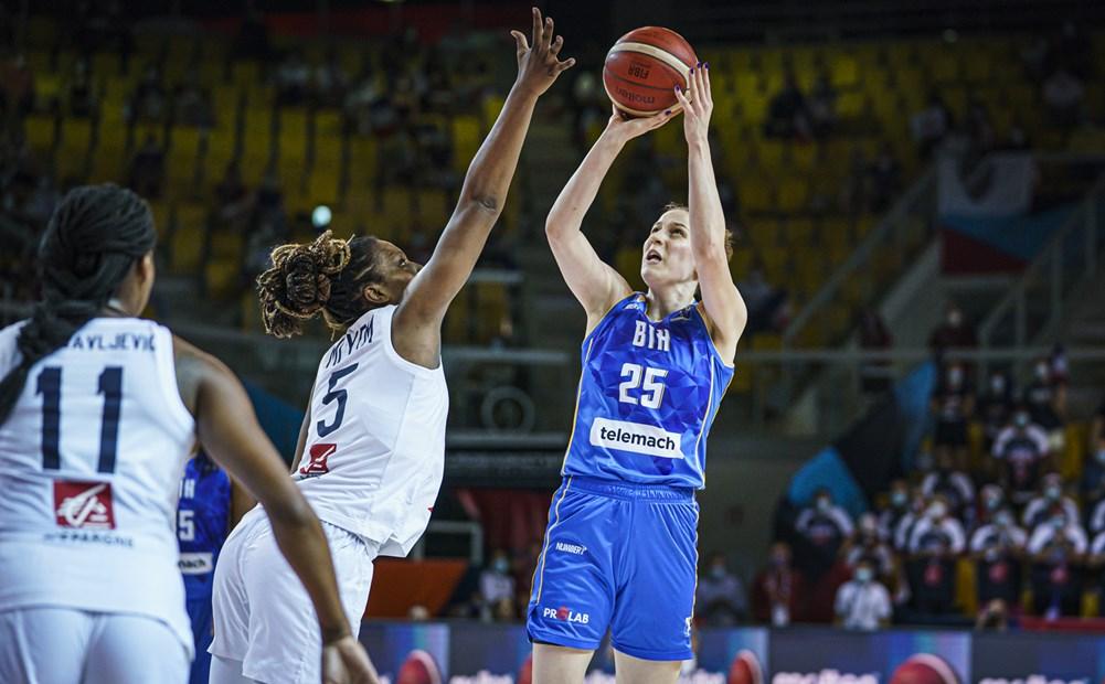 Cuartos de final del Eurobasket de España y Francia: Francia contra Bosnia-Herzegovina