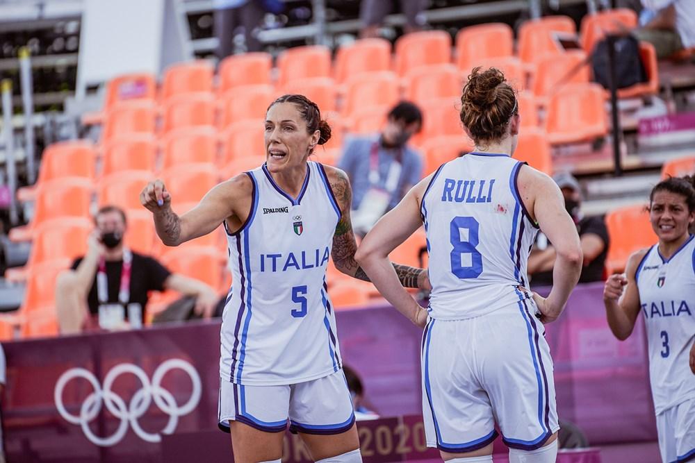 Tokyo 2020, 3×3: per l'Italia oggi ultima partita del girone contro il ROC (Russia comitato olimpico)