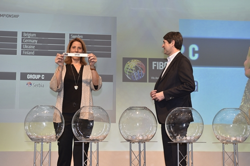 2016 FIBA European Youth Championship Draws