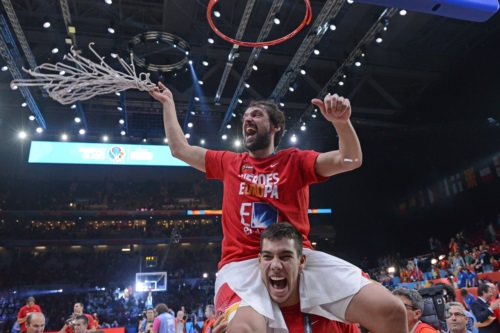 12 Sergio LLULL (Spain); 7 Guillermo  HERNANGOMEZ  (Spain)