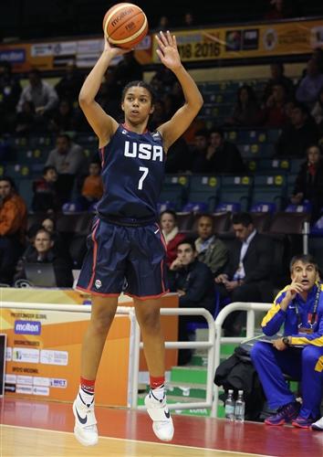 7 Evina J Westbrook (USA)