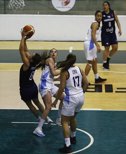 6 Marta Peralta (PAR), 17 Agustina Leiva (ARG), 4 Macarena Rosset (ARG)