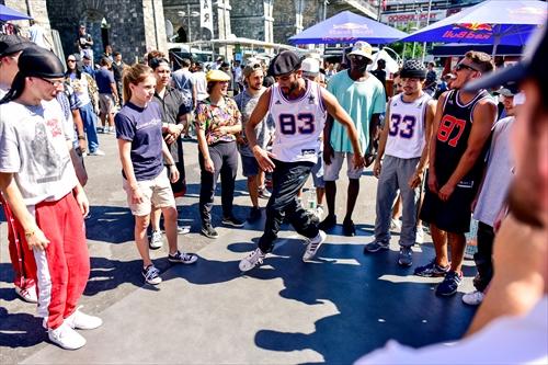 Urban project break dance event