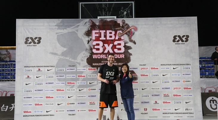 Sir named FIBA 3x3 World Tour Nanjing Masters MVP