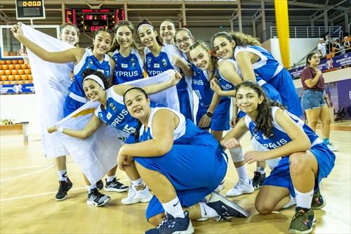 Galatia Agiomamiti (CYP), Dorina Ioannidou (CYP), 23 Katerina Kontou (CYP), 21 Demetra Papalla (CYP), 17 Anthi Savvidou (CYP), 16 Georgia Siampoulli (CYP), 15 Faidra Odysseos (CYP), 14 Panayiota Lambrou (CYP), 11 Maria Sotireli (CYP), 10 Sofia Sttylianidi (CYP), 9 Panagiota Kyriakou (CYP), 8 Michaela Thoma (CYP), 7 Ioanna Kyprianou (CYP), 4 Katerina Tornariti (CYP)