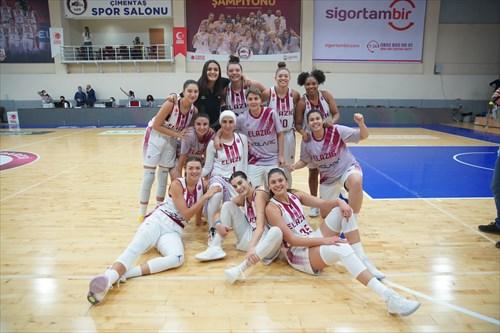 35 Melike Yalcinkaya (BEOI), 23 Nur Nihan Dabakoglu (BEOI), 18 Hanna Brych (BEOI), 15 Albina Razheva (BEOI), 14 Nisa Yalcin (BEOI), 10 Lindsey Denise Pulliam (BEOI), 8 Nazli Gungor (BEOI), 5 Esma Celen Turk (BEOI), 2 Sugranur Hatice Sonmez (BEOI), 3 Kolby Brennan Morgan (BEOI), 1 Aysel Bakir (BEOI)