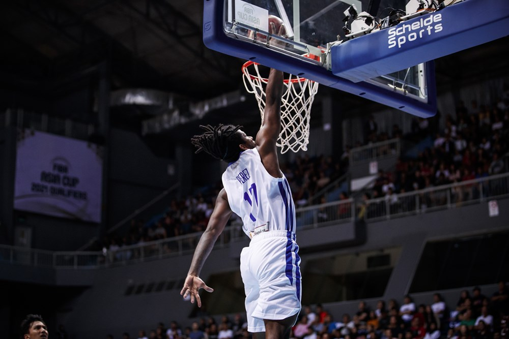 Tiebreaker Times CJ Perez joins Gilas 3x3 practice less than 24 hours after FIBA ACQ game 2020 Tokyo Olympics 2021 FIBA Asia Cup 3x3 Basketball Basketball Gilas Pilipinas News  Gilas Pilipinas Men Gilas Pilipinas 3x3 CJ Perez 2021 FIBA Asia Cup Qualifiers 2020 FIBA 3X3 Olympic Qualifying Tournament