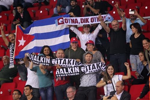 Fans Cuba