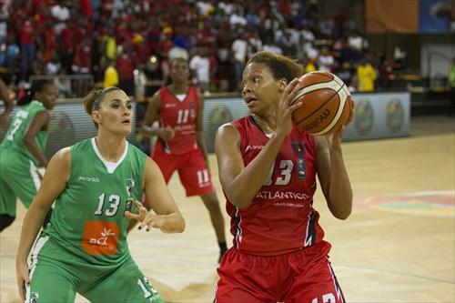 13 Gisela Vega (MOZ), 13 Alicia Devaughn (ANG)