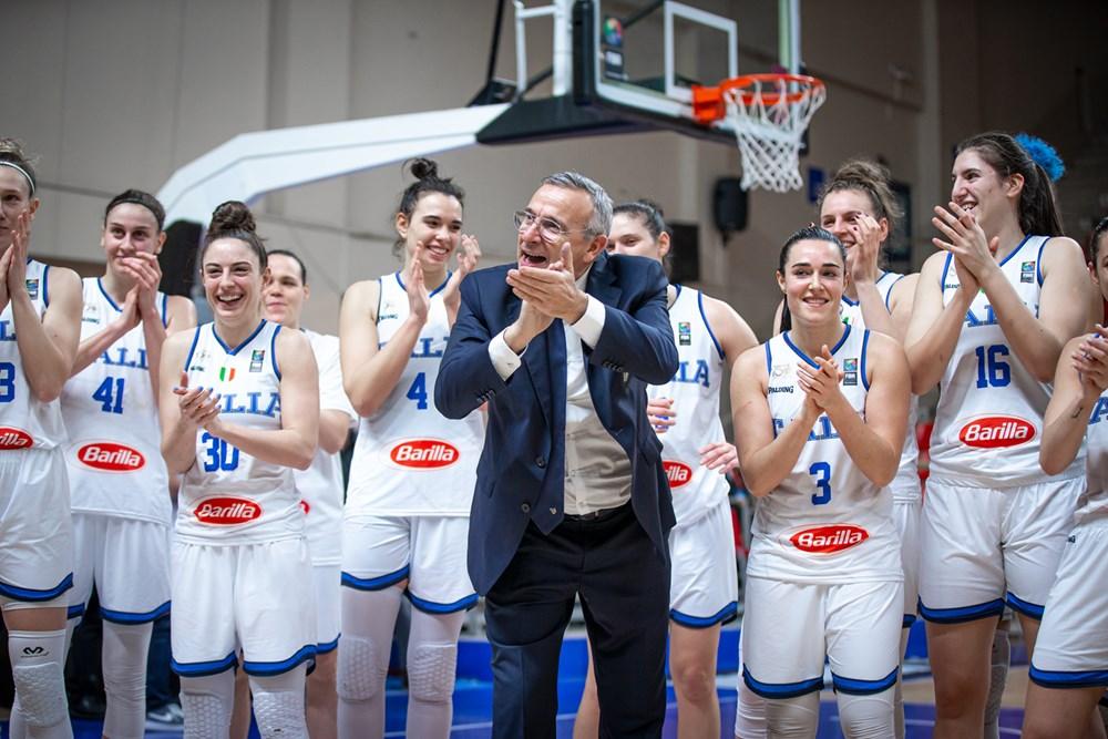 EuroBasket Women: lunedì il sorteggio, Italia in seconda fascia