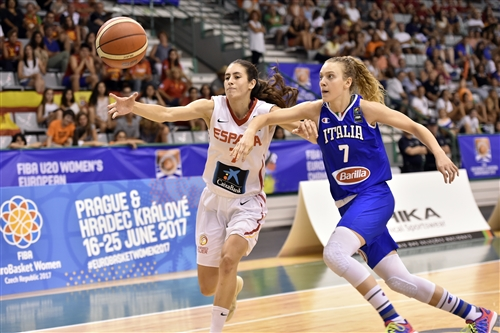 7 Martina Kacerik (ITA), 7 Maria Conde Alcolado (ESP), ESP vs ITA