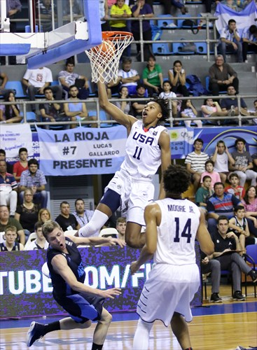 14 Wendell Moore Jr. (USA), 11 Scott Barnes Jr (USA), 9 Gaston Bertona (ARG)