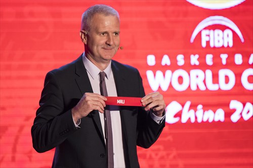 FIBA Basketball World Cup (CHN)  -  Qualifiers Draw