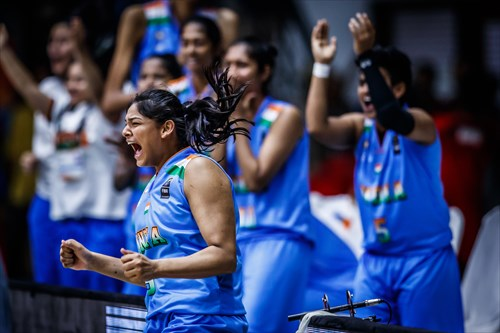 Kazakhstan v India, 2017 FIBA Women's Asia Cup Division B
