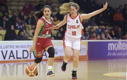10 Florencia Colossi (CHI), 6 Valeria Tapia (MEX)
