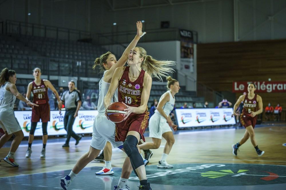 """EuroCup Women – Una formalità la """"prima"""" della Reyer Venezia, contro Phantoms Boom è +65"""