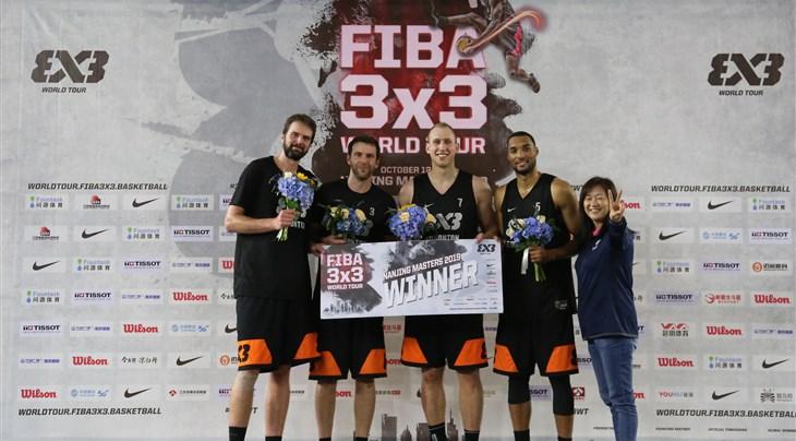 Edmonton get 1st FIBA 3x3 World Tour Masters win in Nanjing