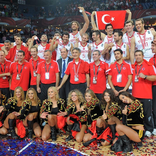 Silver medalists (Turkey)