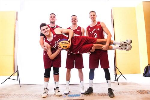 4 Reinis Avotiņš (LAT), 3 Nils Ozoliņš (LAT), 2 Kārlis žunda (LAT), 1 Rendijs Feikners (LAT)