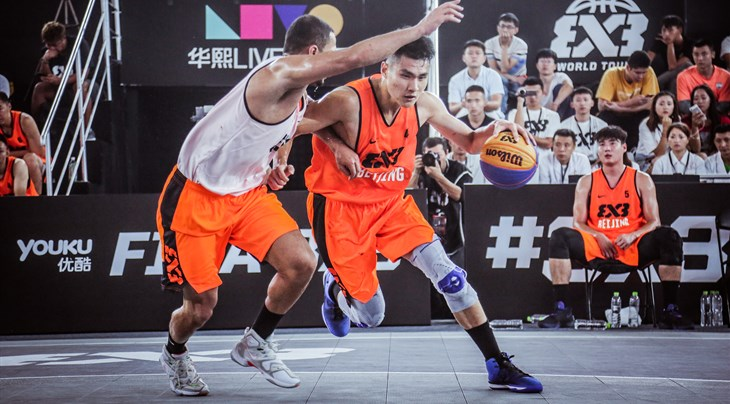 Zhang Ziyi and Bikramjit Gill top all scorers on Day 1 at FIBA 3x3 World Tour Chengdu Masters 2017