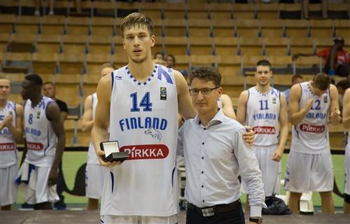14 Ozan Anton ODABASI (Finland), 2015 FIBA U20 European Championship Division B