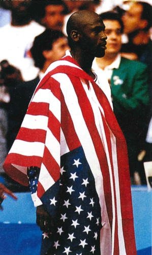 Michael Jordan, Team USA, Barcelona Olympic 1992