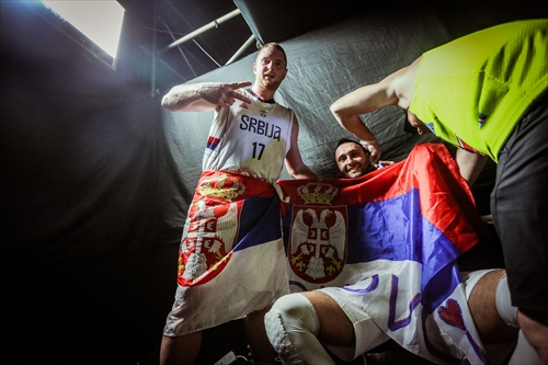17 Marko Savić (SRB), Serbia v USA