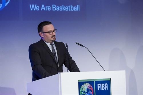 Ljubomir Mandic, FIBA Head of Competitions Europe