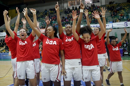 USA wins Gold Medal