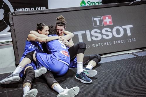 8 Giulia Rulli (ITA), 5 Marcella Filippi (ITA), 2 Rae Lin D'alie (ITA)