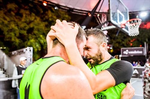 4 Tamás Ivosev (SRB), 7 Dejan Majstorovic (SRB), Novi Sad vs Liman