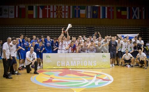 Closing Ceremony FIBA U16 European Championship Division B