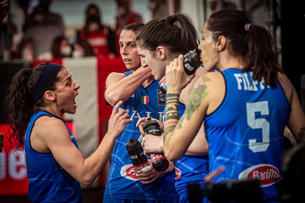 Pre-olimpico 3×3 Femminile: la Svizzera batte ed elimina l'Italia