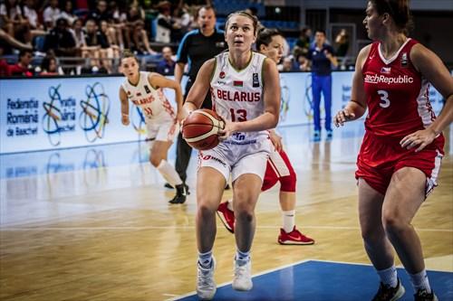 3 Tereza Vitulová (CZE), 13 Maryia Vasileuka (BLR)
