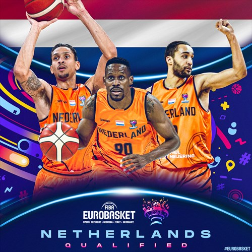 Netherlands qualified for FIBA EuroBasket 2022 on February 20, 2021