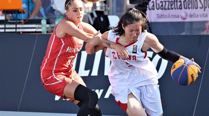 China confirm World Champ status at FIBA 3x3 Women's Series Lignano Stop